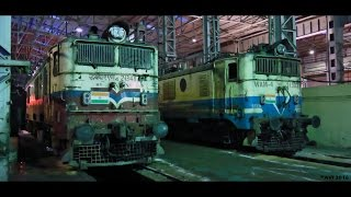 Bhilai India  city photos : A Visit to ELECTRIC LOCOMOTIVE SHED, BHILAI : Vishwakarma Puja 2016 (Indian Railways)