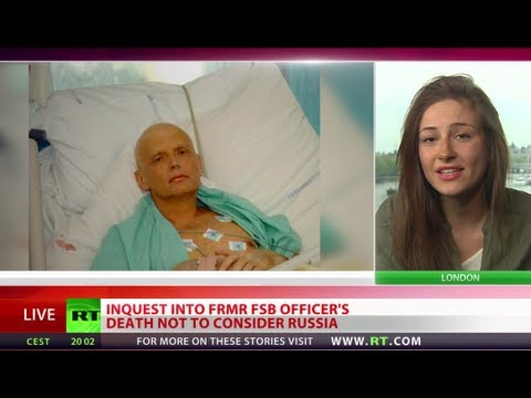 Not - The inquest into the death of former KGB spy Aleksandr Litvinenko is on the verge of falling apart after a judge ruled he couldn't hear evidence connected wi...