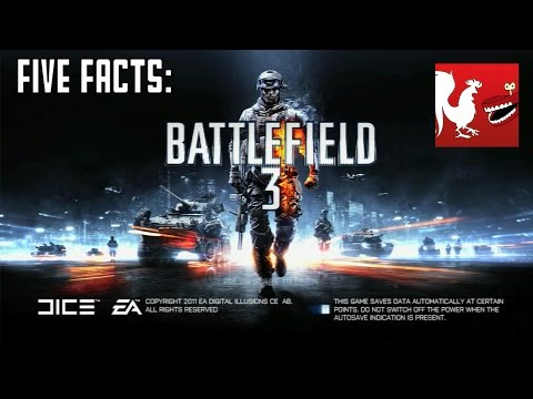 Facts - Jack and Ray bring you five facts over Battlefield 3. RT Store: http://roosterteeth.com/store/ Rooster Teeth: http://roosterteeth.com/ Achievement Hunter: http://achievementhunter.com Subscribe...