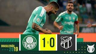 PALMEIRAS 1 X 0 CEARÁ - Melhores Momentos - Brasileirão 2019 (02/11)