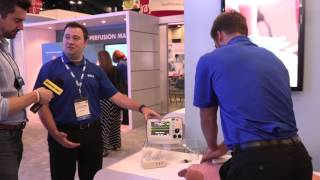 Zoll shows off new CPR monitor at NTI