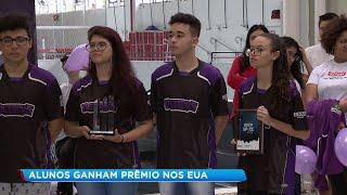 Estudantes de Bauru conquistam torneio de robótica em Las Vegas