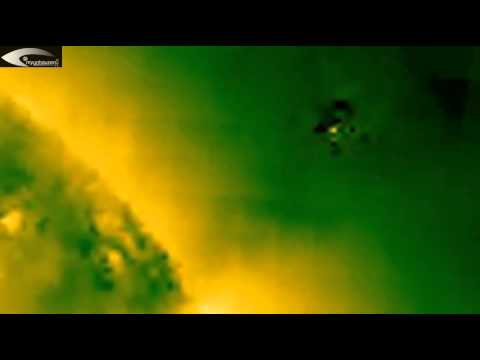 Holographic images, Anomalies and UFOs in solar space – Review for July 18, 2013