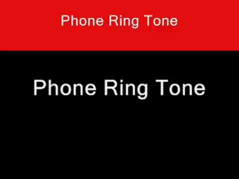 Video Phone Ring Tone Sound Effect Cell Phone Satellite download in MP3, 3GP, MP4, WEBM, AVI, FLV January 2017