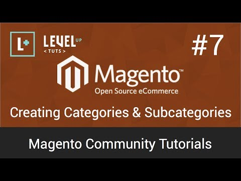 Magento Tutorial 7 – Creating Categories & Subcategories