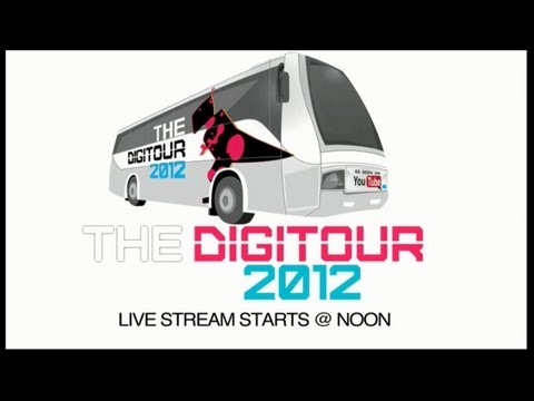 thedigitour - Check out The Digitour 2012 live stream chat preview! Join Destorm, Ricky Ficarelli and Wellington, Key of Awesome, Alex Goot, and many more! Then go to thedigitour.com to see when they're...