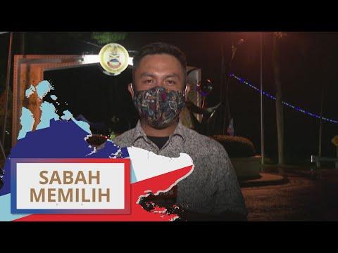 PRN Sabah: [21:05PM] Perkembangan terkini dihadapan Istana negeri Sabah | #SabahMemilih
