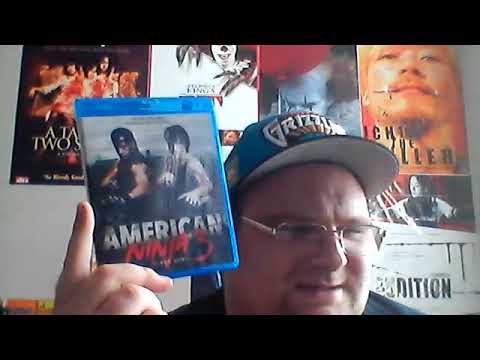 AMERICAN NINJA 3:blood Hunt(1989) Olive Films Bluray Review