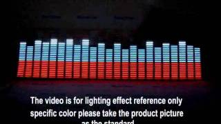 Download Lagu Music Activated Car Equalizer Stickers with an LED Light Mp3
