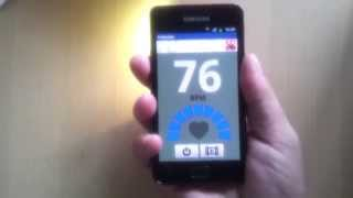 Heart rate monitor YouTube video