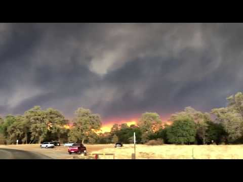 Camp Fire in Butte County. Chico
