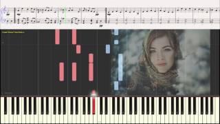 Катюша (вариация) - М. Блантер (Ноты и Видеоурок для фортепиано) (piano cover)
