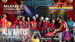 "Video NEW PALLAPA - MENUNGGU - OPENING 2 ALL ARTIS ""MIANKS"" 2 JULI 2017 WONOKERTO PEKALONGAN FULL HD MP3, 3GP, MP4, WEBM, AVI, FLV September 2019"