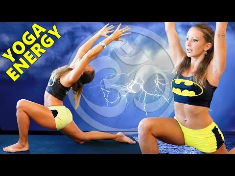 Morning Yoga For Energy, Strength & Focus – 20 Minute Beginners Yoga Workout