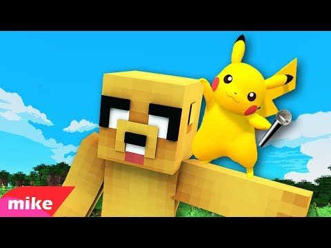 PIKACHU MIKE! 🎤 PARODIA MUSICAL MINECRAFT | Zedd - Beautiful Now ft. Jon Bellion (видео)