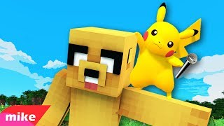 PIKACHU MIKE! 🎤 PARODIA MUSICAL MINECRAFT | Zedd - Beautiful Now ft. Jon Bellion