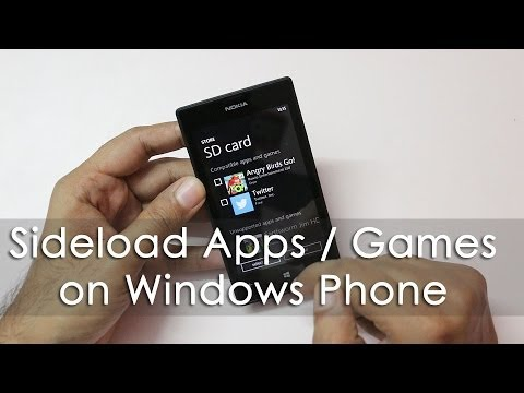 Sideload / Install Games & Apps on Windows Phone 8 via SD Card Legally