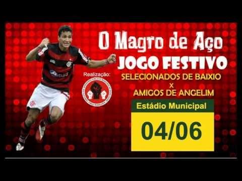 (Jogo Festivo) Magro de Aço Ronaldo Angelim em Baixio CE [HD]