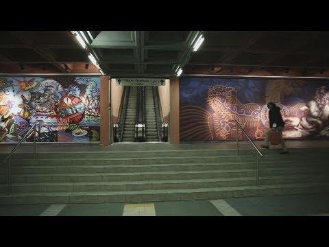 Επίσημη παρουσίαση τεσσάρων graffiti στον σταθμό του ηλεκτρικού σιδηροδρόμου «ΕΙΡΗΝΗ»
