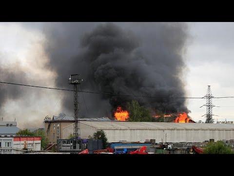 Μόσχα: Μία νεκρή και 13 τραυματίες από φωτιά σε θερμοηλεκτρικό σταθμό…