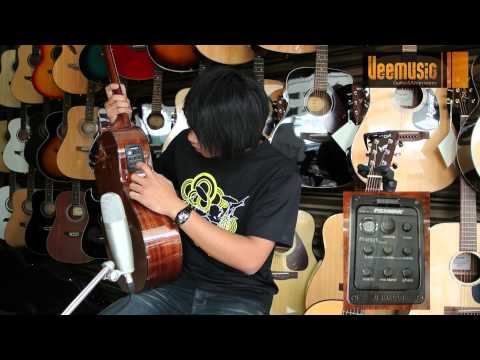 Đàn Guitar Acoustic Saga LS-1C