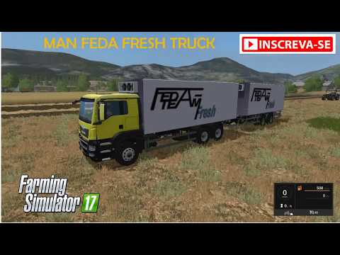 MAN FeDa Fresh truck v1.0
