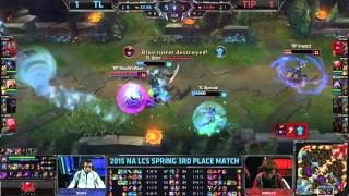 LCS NA Spring 2015 - Playoffs - Petite finale - TL vs TIP