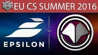Epsilon vs Millenium, game 1