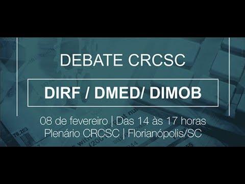 Debate CRCSC - DIRF-DMED-DIMOB