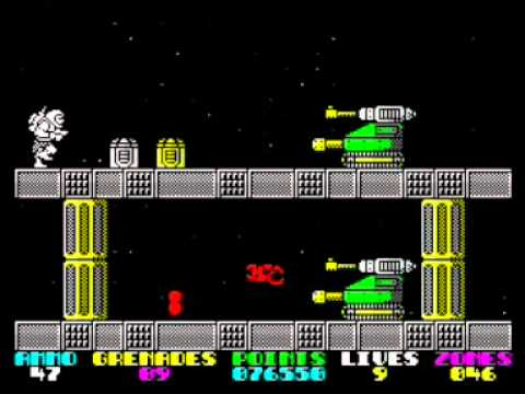 Exolon Walkthrough, ZX Spectrum