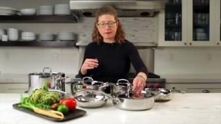 5.5 Quart Sauté Pan with Helper Handle & Cover Demo Video Icon
