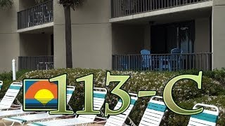 Unit 113-C Summerhouse Panama City Beach Vacation Condo