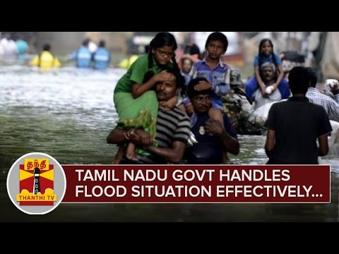 Tamil-Nadu-Government-handles-Flood-Situation-Effectively--Central-Government--Thanthi-TV