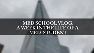 "MEDICAL SCHOOL VLOG: A week in the life of a med student. This week I decided to film my week to show you what a week int he life of a medical student is like. This week was our ""campus block"" so it's not our usually weeks where we are in clinics, this is a filler week to tie up loose ends and prepare us for going into the next rotation. I have finished my surgery rotation and will be moving on to my medical rotation next week. For medical students, we are broken into 3 groups in final year and start in one of general practice, surgery or medicine.Let me know if you have any questions in the comments below! FOLLOW METwitter and Instagram: Medic_EneTwitter: https://twitter.com/Medic_EneSong Orae Khali : good lifeJeff Kaale: cooking souls and pillow talk"