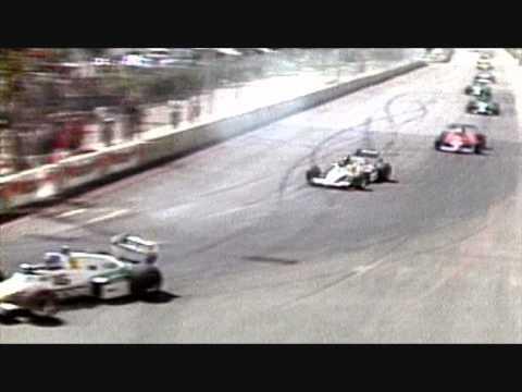 Länsi-Yhdysvaltain Grand Prix 1983: Keke Rosberg pyörähtää menettämättä yhtään sijaa