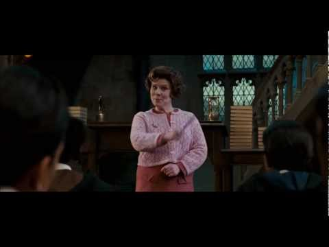 Harry Potter and the Order of the Phoenix - Dolores Umbridge v.s. Harry Potter (HD)