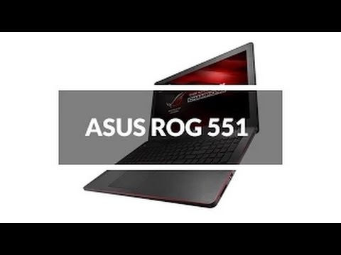 ASUS ROG G551JW Gaming Laptop Unboxing