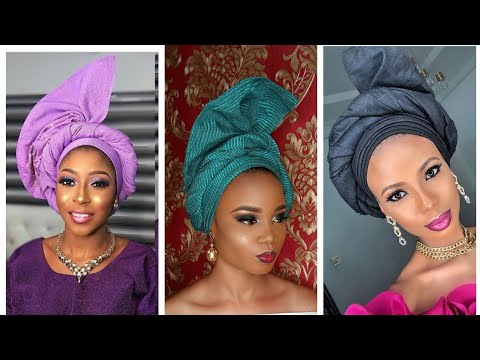 BEGINNER /(2019)SIMPLEST TRENDING GELE TUTORIAL