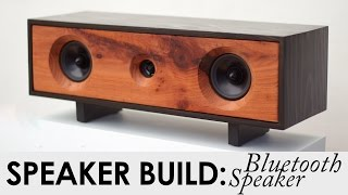 DIY Bluetooth Speaker Build | BUILD PLANS | Reclaimed Redwood Speaker