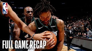 JAZZ vs TIMBERWOLVES | Derrick Rose Records A Career-High 50 Points  | October 31, 2018 by NBA