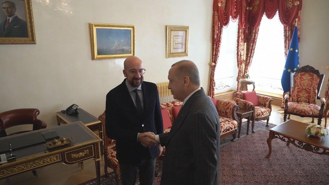 Ρ.Ερντογάν: Συνάντηση με τον πρόεδρο του Ευρωπαϊκού Συμβουλίου στην Κωνσταντινούπολη