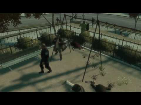 GTA IV messing with pedestrians 4 (bloopers, glitches and funny stuff)