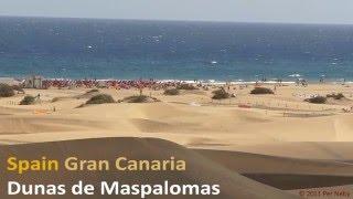 Maspalomas Spain  city pictures gallery : Dunas de Maspalomas / Playa del Inglese [HD] Spain, Gran Canaria - 2011