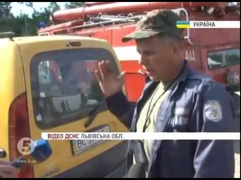На Львівщині лавиною сміття завалило 4 людей