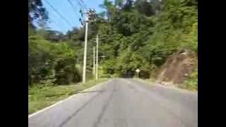 Motorcycling In Koh Chang Paradise Island, Thailand