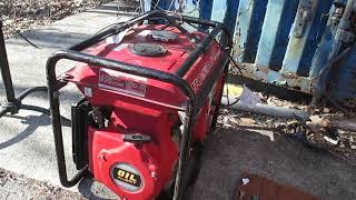 6. Honda EB3000 generator alive again
