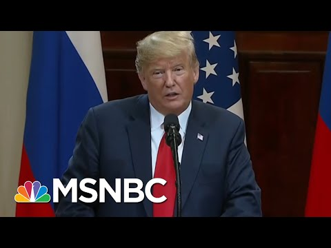 Donald Trump Caves To Vladimir Putin In Helsinki, Gets Blasted By Dems & GOP | The 11th Hour | MSNBC