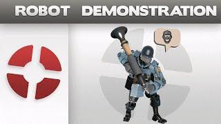 Robot Demonstration: Spy Reaction AI