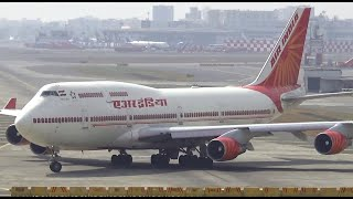 Video Just watch this Air India Boeing 747-400 Take-off MP3, 3GP, MP4, WEBM, AVI, FLV Agustus 2019