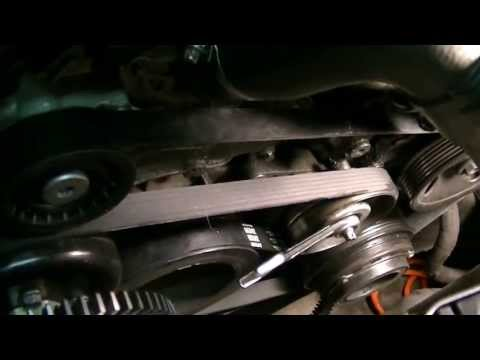 Tips on Replacing Idler Pulley and Serpentine Belt Mercedes W210 E55 AMG